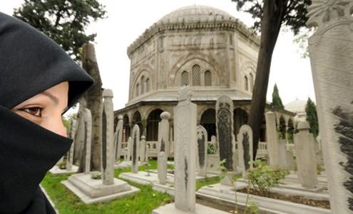 muslimsk begravning