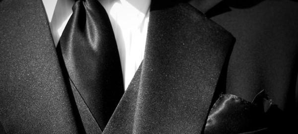 vit slips begravning ribbing