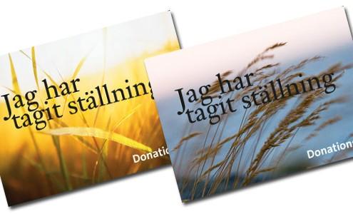 donationskort
